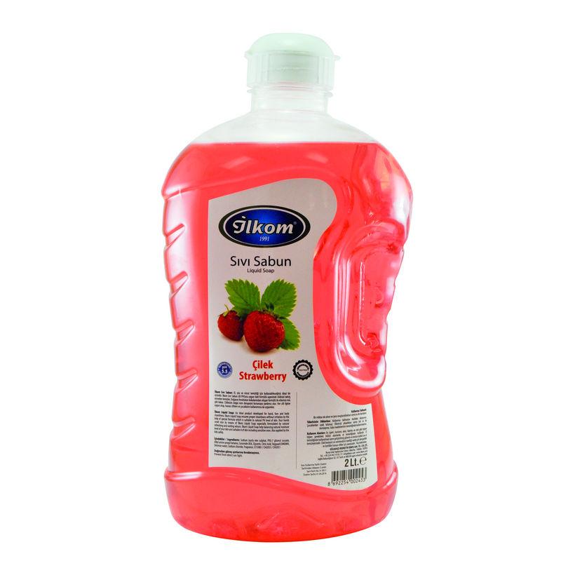 İlkom Sıvı El Sabun - Beyaz Sabun Kokulu - 2L